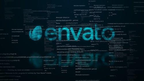 Digital Code Logo Reveal