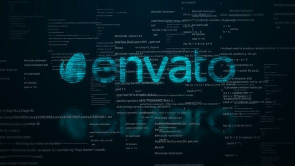 Thumbnail for Digital Code Logo Reveal