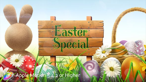 Easter Special Promo - Apple Motion
