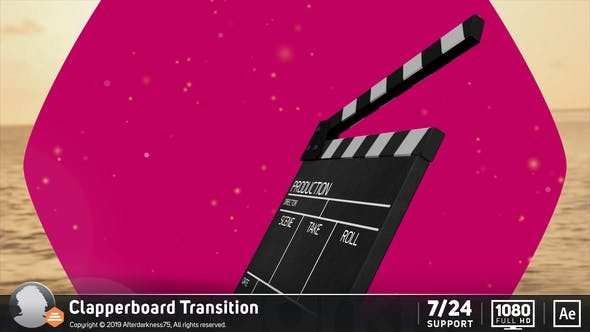 Thumbnail for Transition Clapperboard