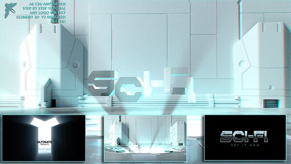 Cover Image for Sci-fi Logo