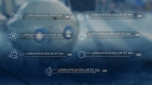 Science & Technology Lower Thirds Pack