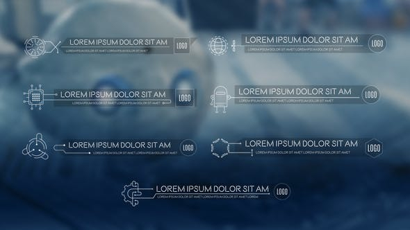 Thumbnail for Science & Technology Lower Thirds Pack