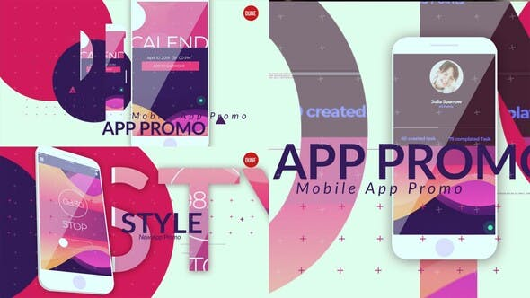 Thumbnail for Modern Style App Promo