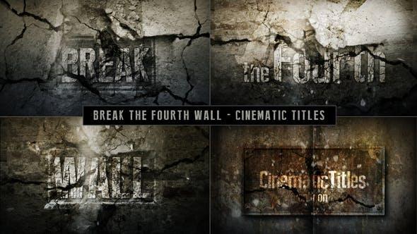 Thumbnail for Кинематографическая названия - Разрыв четвертой стены