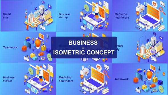Thumbnail for Business - Isometric Concept