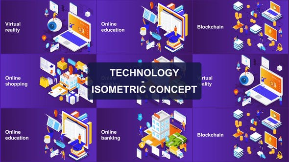 Thumbnail for Technology - Isometric Concept