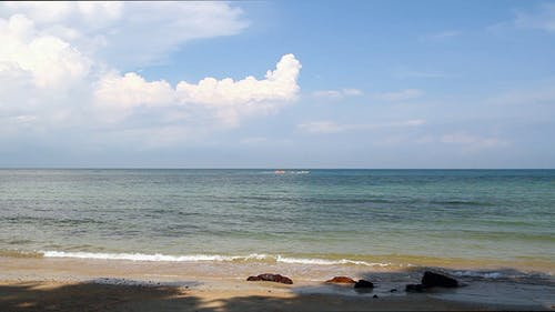 Beach, Wave And Banana Boat