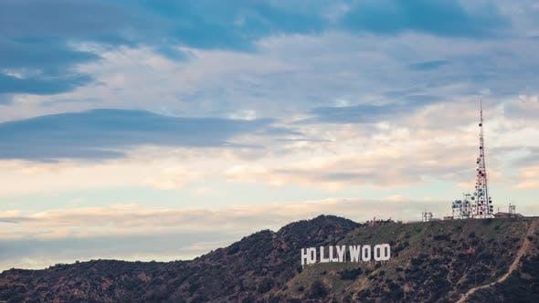 4K Hollywood Sign