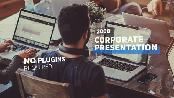 Thumbnail for Modern Corporate Slideshow