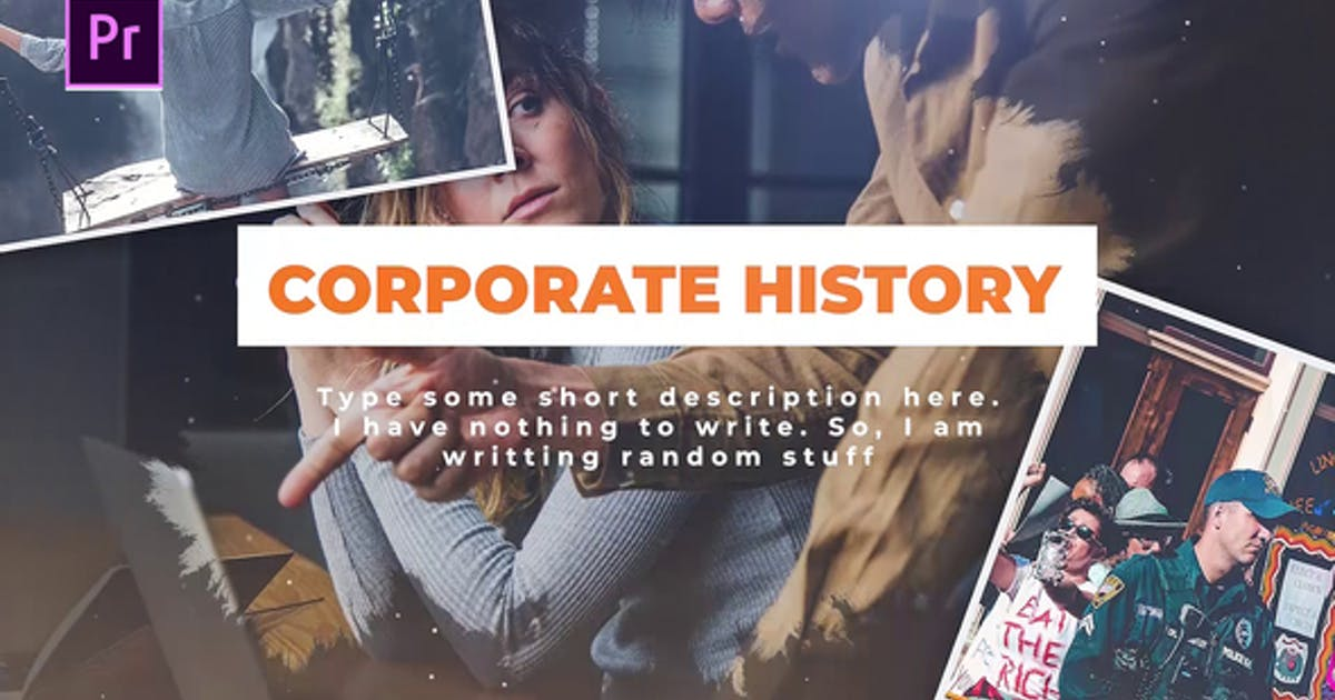 Download Corporate History by Media_Stock