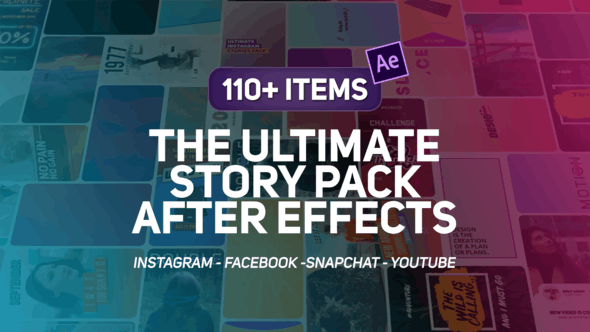 Thumbnail for The Ultimate Story Pack - AfterEffects