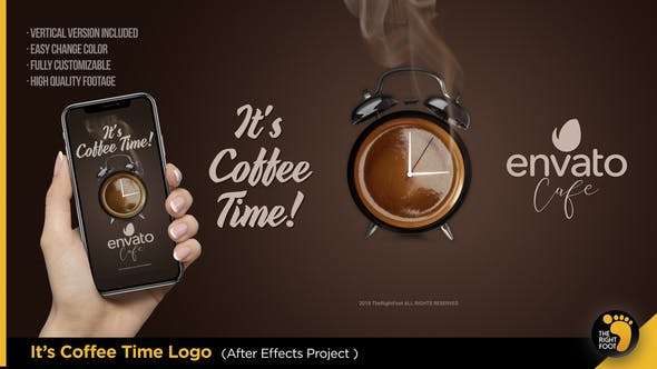 Thumbnail for It's Coffee Time - Logo