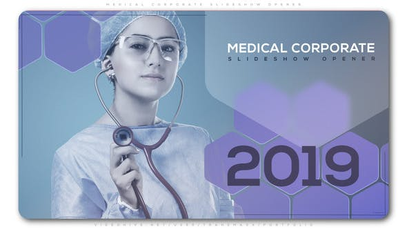 Thumbnail for Medical Corporate Slideshow Opener