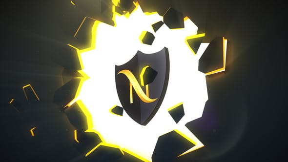 Thumbnail for Broken Wall Logo Reveal