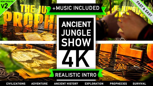 Thumbnail for Ancient Civilization Jungle Show Intro