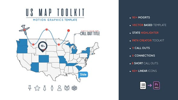 Us Map Toolkit