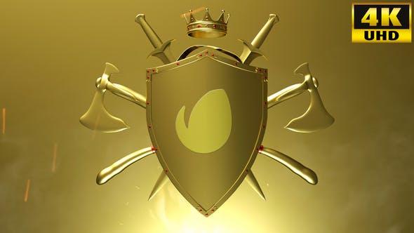 Thumbnail for Knight Logo Reveal Intro V1