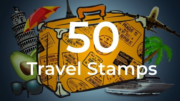 50 sellos de viaje