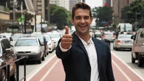 Thumbnail for Thumbs Up from Business