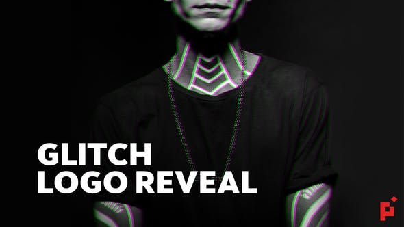 Thumbnail for Bold Glitch // Logo Reveal
