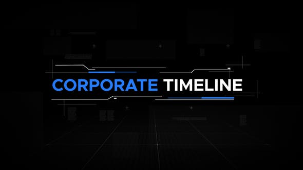 Thumbnail for Corporate Timeline Cinematic Slideshow