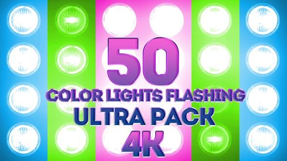 Farblichter blinken Ultra Pack 4K