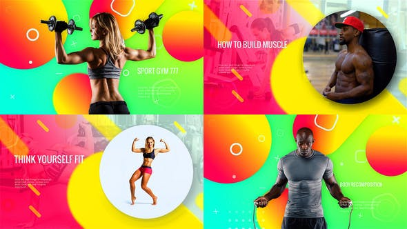 Thumbnail for Sporty Club - Fitness Promotion