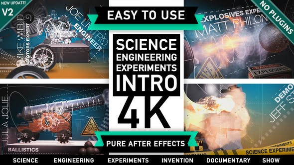 Thumbnail for Science Engineering Mechanical Experiments Intro
