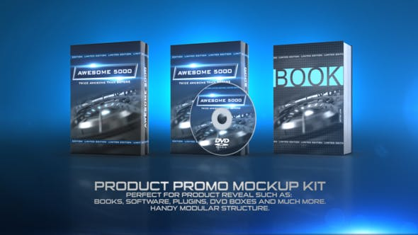 Thumbnail for Product Promo Mockup KIT
