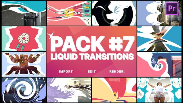 Thumbnail for Liquid Transitions Pack 07 | Premiere Pro Motion Graphics Template
