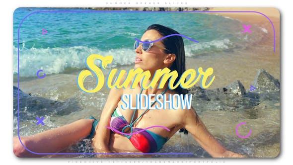 Thumbnail for Summer Opener Slides