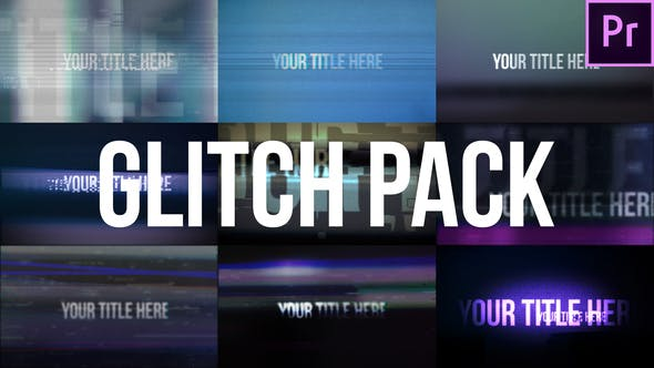Thumbnail for Glitch Title Pack