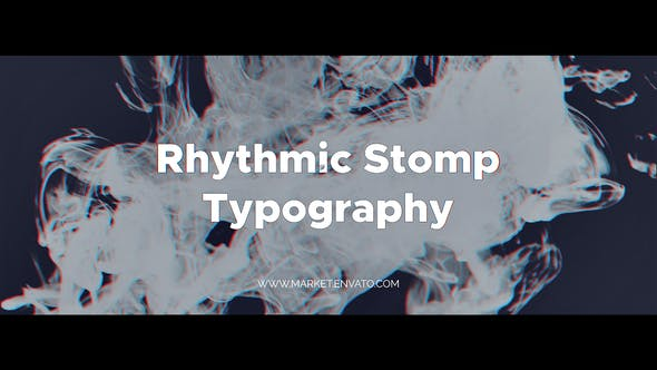 Thumbnail for Rhythmic Stomp Typography | After Effects Template
