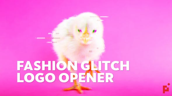 Cover Image for Dynamic Fashion // Glitch Logo Opener