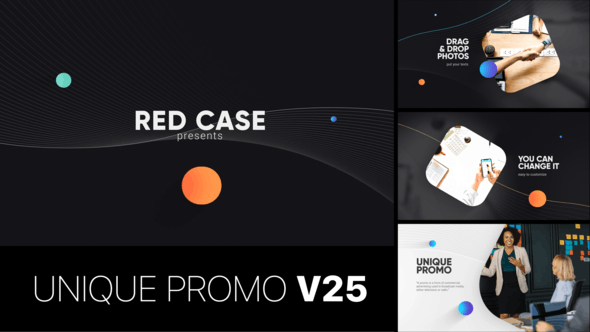 Thumbnail for Unique Promo v25 | Corporate Presentation