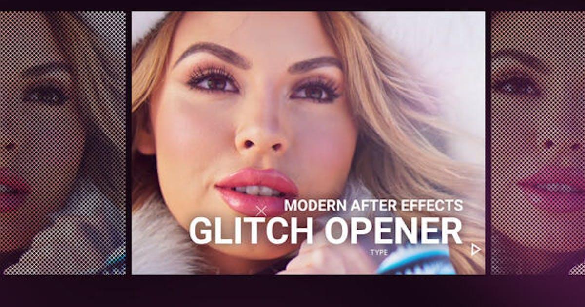 Download Modern Glitch Opener by VisualSuperhero