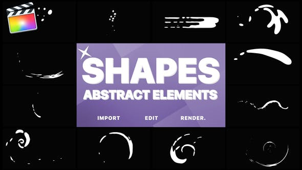 Thumbnail for Funny Abstract Shapes | FCPX