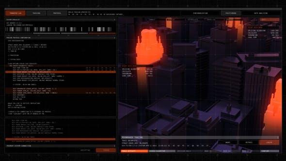 Thumbnail for Technodrome HUD UI Pack 3