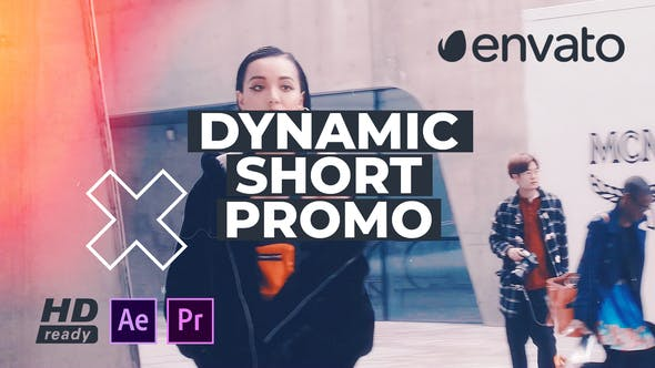 Thumbnail for Dynamic Short Promo For Premiere Pro
