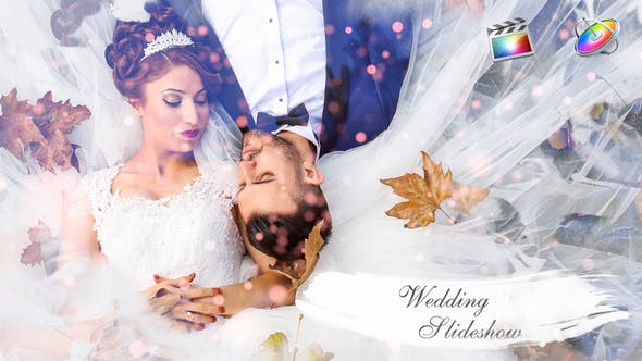Thumbnail for Wedding Slideshow || FCPX or Apple Motion