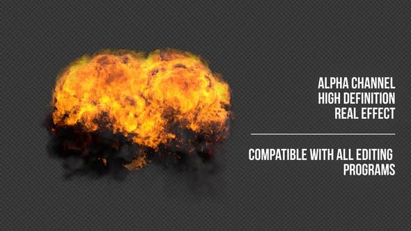 Ground Explosion 3