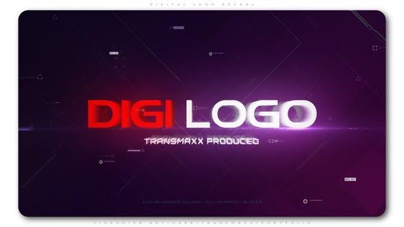 Thumbnail for Digital Logo Reveal