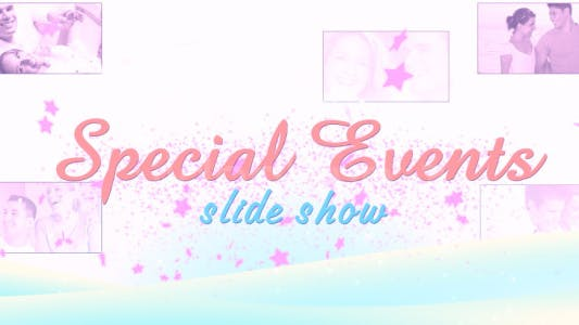 Thumbnail for Special Events - Slideshow