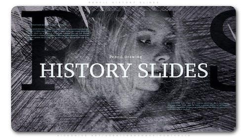 Pencil History Slides