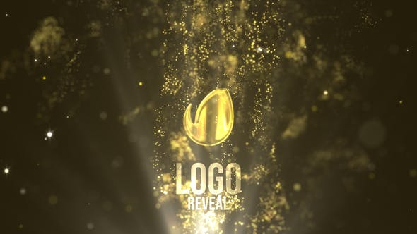 Thumbnail for Fluid Gold Logo Reveal