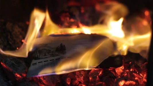 Thumbnail for Burning Letter In The Furnace