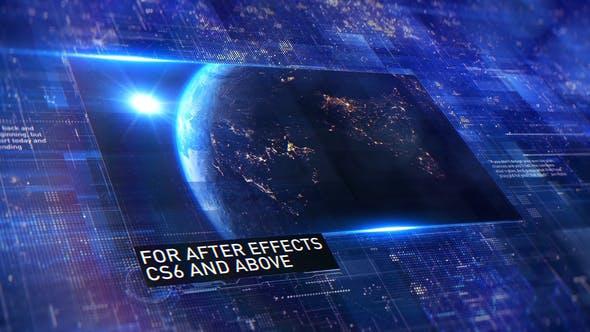 Thumbnail for Space   Digital Promo / Slideshow