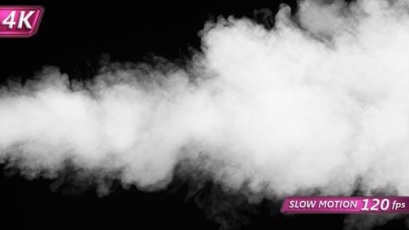 Intense Jet Of Dense Smoke