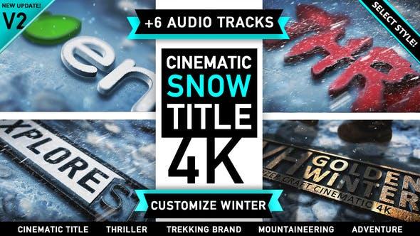 Thumbnail for Winter Snow Logo Intro